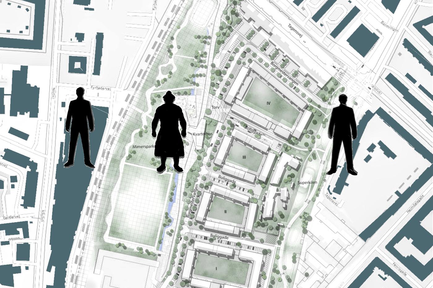 New urban plan of Mjølnerparken